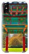 Korean Pavilion At Vandusen Botanical Garden IPhone Case