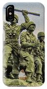 Korean War Veterans Memorial South Korea IPhone Case