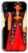 Korean Woman Dancer IPhone Case