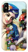 krishna-Balarama IPhone X Case