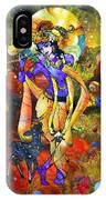 Krishna With A Star Deer IPhone X Case