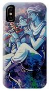 Krishna Radha IPhone Case