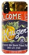 Kruger's Farm IPhone Case