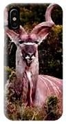 Kudu Bull IPhone Case