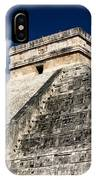 Kukulkan Pyramid At Chichen Itza IPhone Case