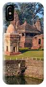Kund At Ancient Hindu Temple Complex - Amarkantak India IPhone Case