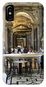 At The Kunsthistorische Museum Cafe II IPhone Case