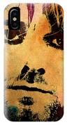 Kurt Cobain 3 IPhone Case