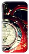 Kustom Red Coupe IPhone Case
