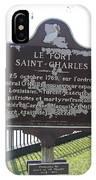 La-013 Le Fort Saint-charles IPhone Case