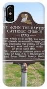 La-024 St John The Baptist Catholic Church 1770 IPhone Case