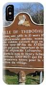 La-036 Ville De Thibodaux IPhone Case