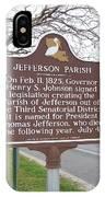 La-040 Jefferson Parish IPhone Case