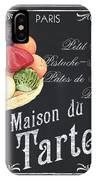 La Maison Du Tartes IPhone Case by Debbie DeWitt