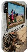 La Mesilla Outdoor Mural IPhone Case