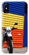 La Motocicleta IPhone Case