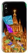 La Parroquia Celebration IPhone Case