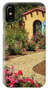 La Posada Gardens In Winslow Arizona IPhone Case