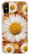 La Ronde Des Marguerites 0101a IPhone Case