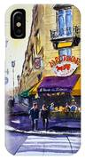 La Rotonde Des Tuileries IPhone Case