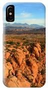 La Sal Landscape Work C IPhone Case