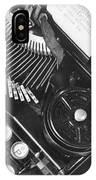 La Tecnica - The Typewriter Of Julio IPhone Case