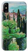 La Turbie Hills Above Monaco IPhone Case