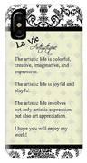 La Vie Artistique IPhone Case