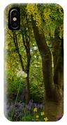 Laburnum Tree In Bloom IPhone Case