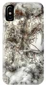 Labyrinth Of Ice IPhone Case