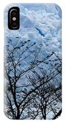 Lace On Blue IPhone Case