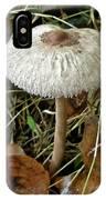 Lacy Parasol Mushroom IPhone Case