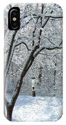 Lacy Snowfall IPhone Case
