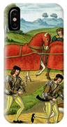 Ladies Hunting, From A Miniature IPhone Case