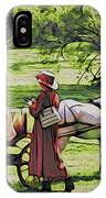 Ladies In The Meadow IPhone Case