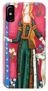 Lady And The Unicorn La Pointe IPhone Case