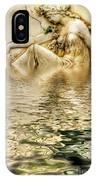 Lady Bathing IPhone Case