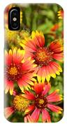 Lady Bird And Her Flowers IPhone Case