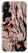 Lady Bug In Spring IPhone Case