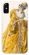 Lady In Grand Domino Dress To Wear IPhone Case
