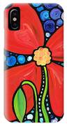 Lady In Red 2 - Buy Poppy Prints Online IPhone Case