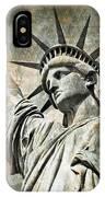 Lady Liberty Vintage IPhone Case