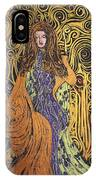 Lady Of Swirl IPhone Case