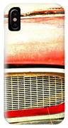 Lady On Red IPhone Case