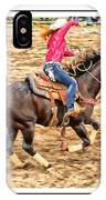 Lady Roping IPhone Case