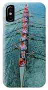 Lady Scullers IPhone Case