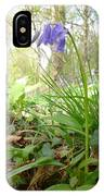 Lady Spencer's Bluebell IPhone Case