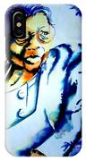 Lady With A Cane IPhone Case