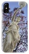 Lady With The Light IPhone Case