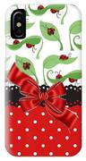 Ladybug Delight  IPhone Case